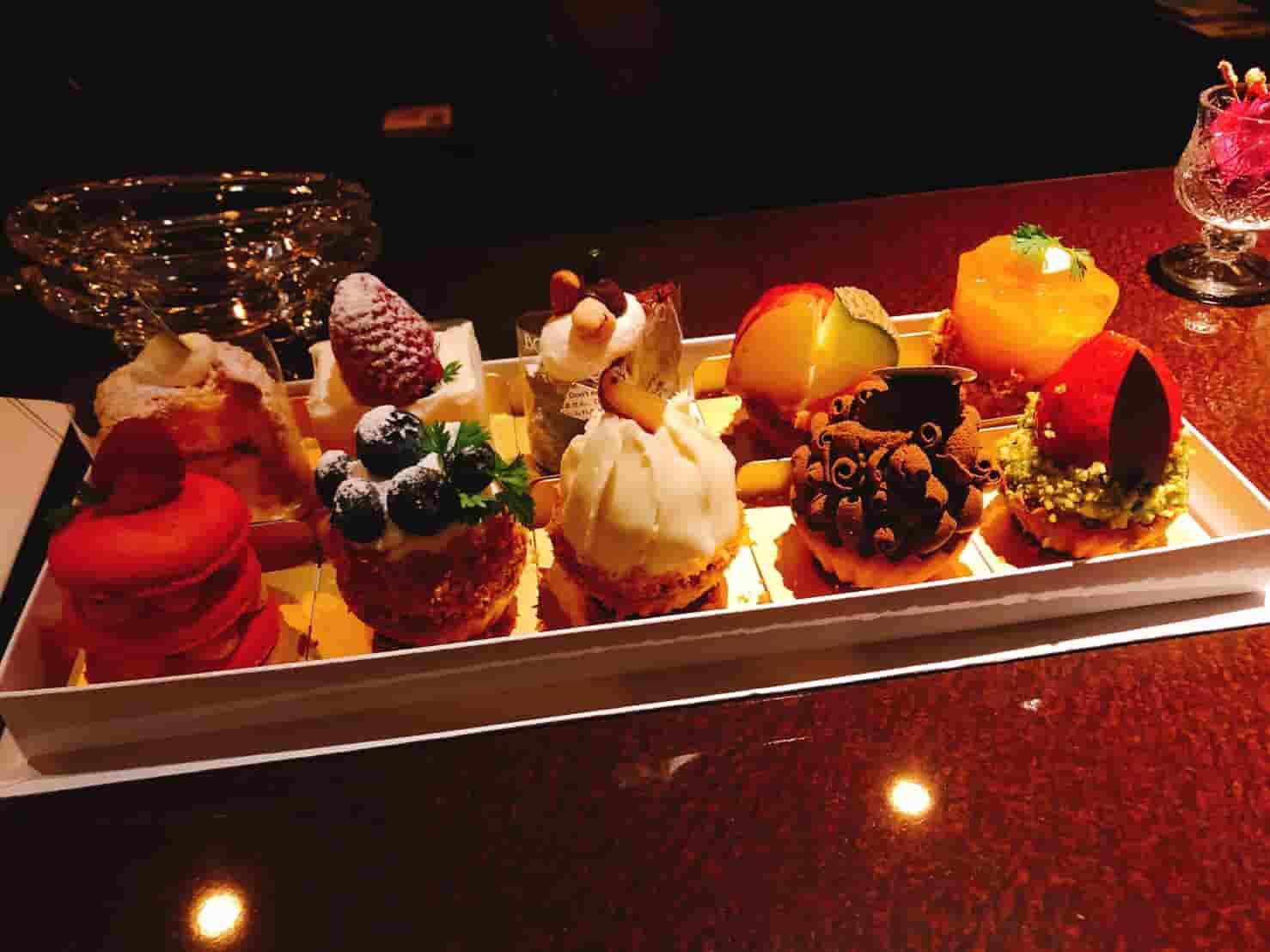 中洲一口サイズのケーキ