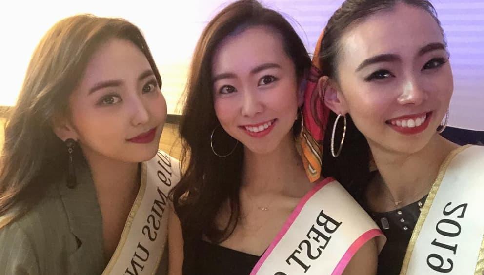 3人のモデル
