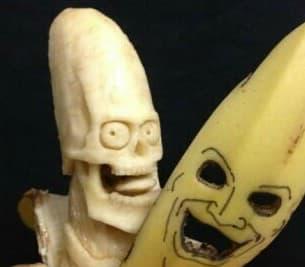 面白いバナナ