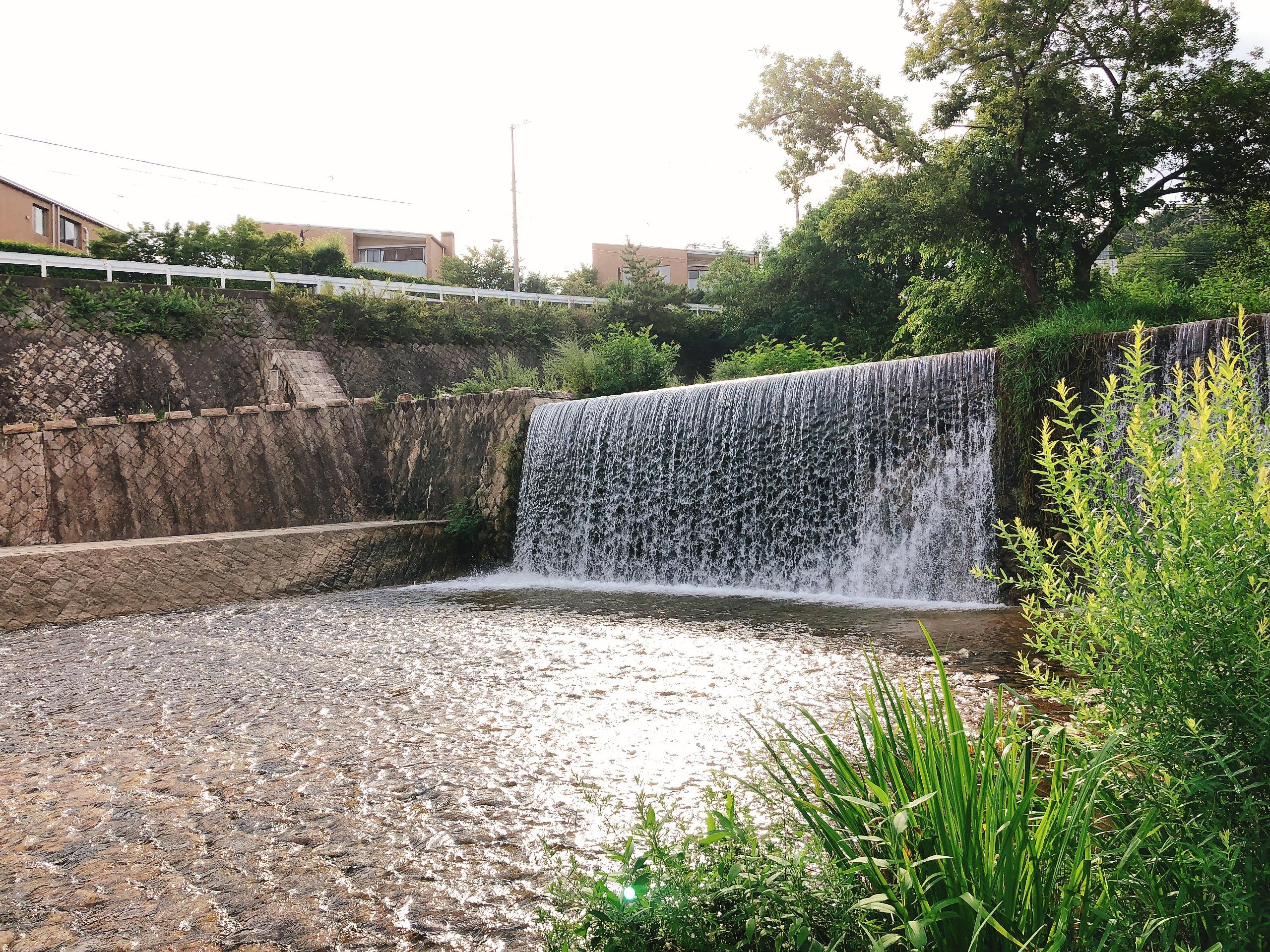 六甲滝遊び