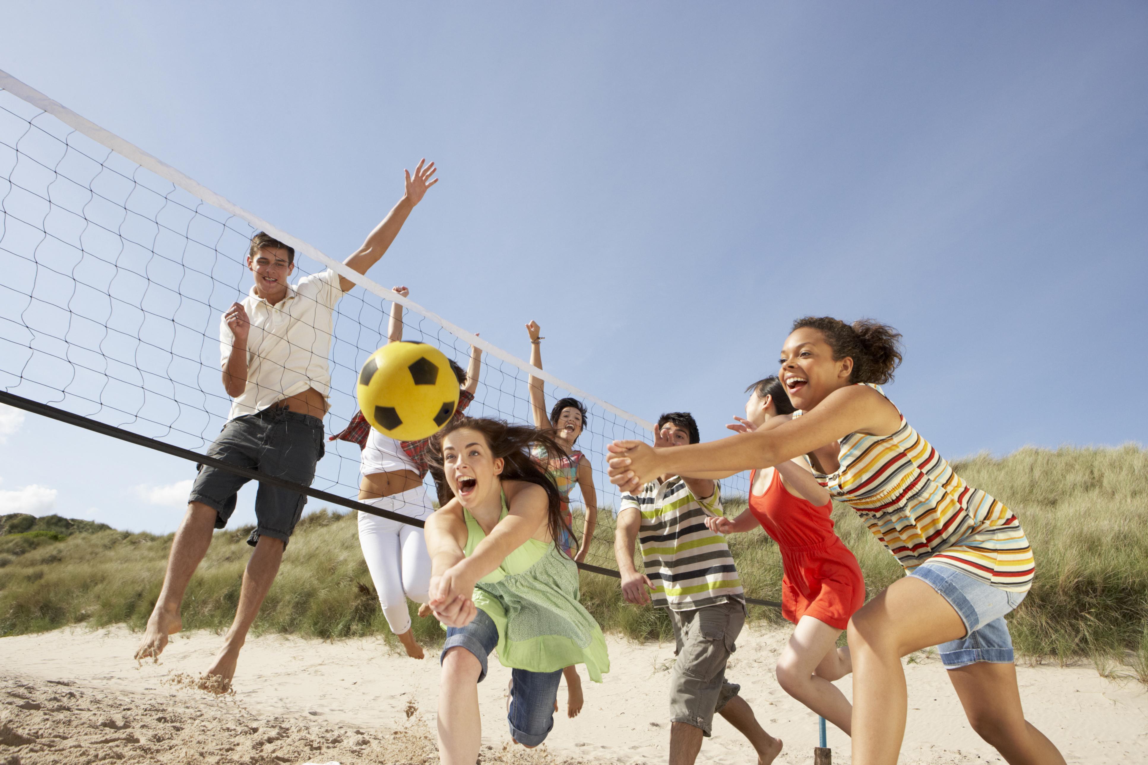 スポーツ、運動、アクティブな遊び
