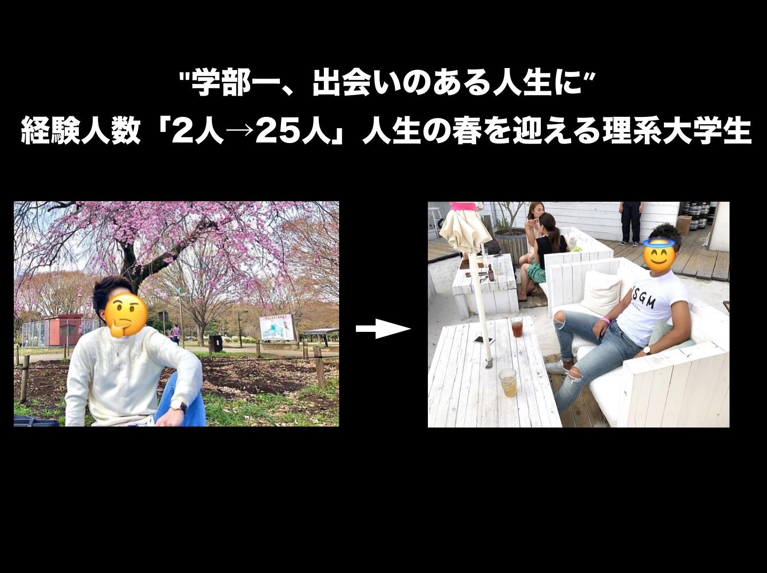 経験人数「2人→25人」人生の春を迎える理系大学