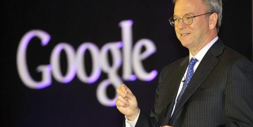 Googleのエリック・シュミット会長